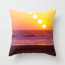 Outer Sunset Throw Pillow