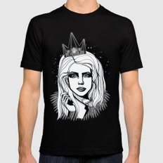Queen of the night Mens Fitted Tee Black 2X-LARGE
