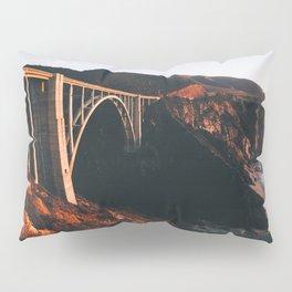 Sunburnt Bixby Bridge - Big Sur, California Pillow Sham