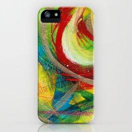 Monster Swirl iPhone Case