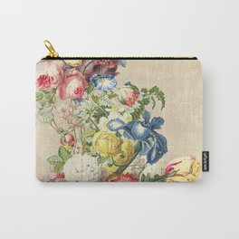 Floral tribute to Louis McNeice (Light) Carry-All Pouch