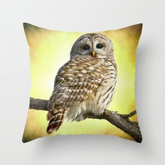 She sees right into the heart of me Throw Pillow