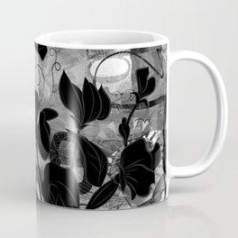 Queen Sweet Pea -- grayscale Coffee Mug