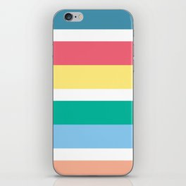 Bondi Stripe iPhone Skin