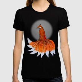 Kitsune, the Nine-Tailed Fox T-shirt