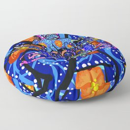 Guardians of Mexico (alebrijes) Floor Pillow