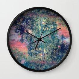 Deep Rooted Wall Clock