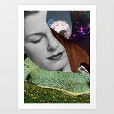 Dreaming by Zabu Stewart Art Print