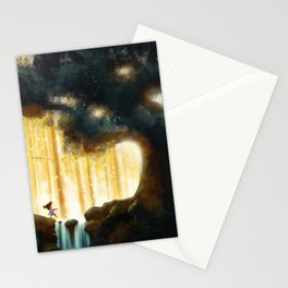 A Step Toward the Magical Wood Stationery Cards