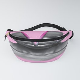 Humain Slices psychedelic Fanny Pack