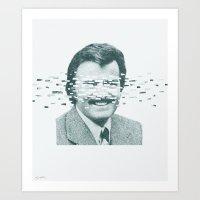 robert farkas Art Prints featuring Robert by Brock Davis