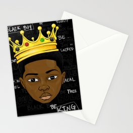 A Black Love Letter 2 Stationery Cards