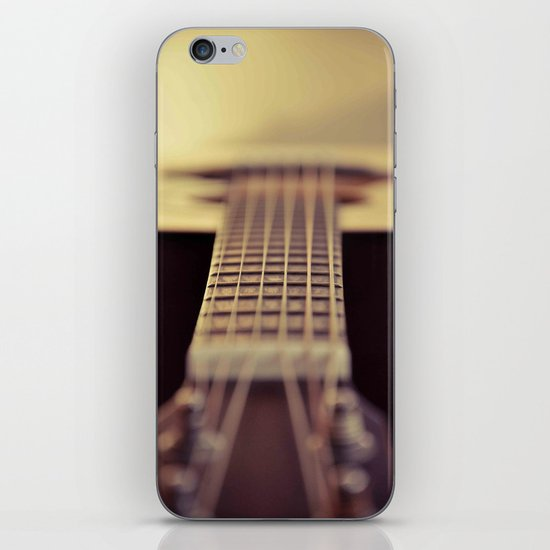 The Guitar iPhone & iPod Skin