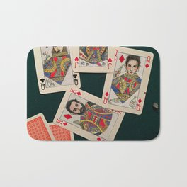 Lily, Rosemary and The Jack of Hearts - Bob Dylan Bath Mat