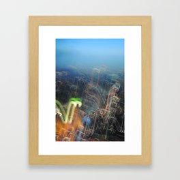 Light Show Framed Art Print