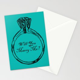 Will You Marry Me Stationery Cards