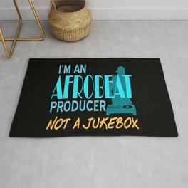 I'm an Afrobeat producer not a Jukebox Rug