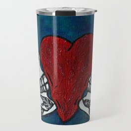 Amo y Besos (Love & Kisses) Travel Mug
