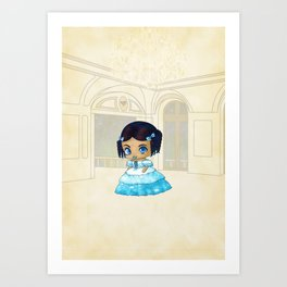 Eugenie Art Print