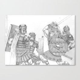 Civis Romani sum! Canvas Print