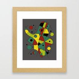 Abstract #226 The Cellist #2 Framed Art Print