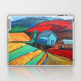 Hay Barns Laptop & iPad Skin
