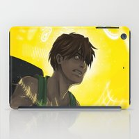 gundam iPad Cases featuring Who is My Enemy? - Gundam Wing Print by PinStripes Studios