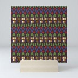 Aztec Print (Patterns Please) Mini Art Print