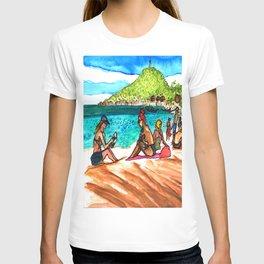 beach vibes haad rin beac thailand T-shirt