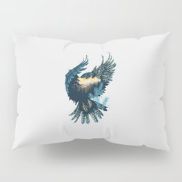 Forest Falcon Pillow Sham