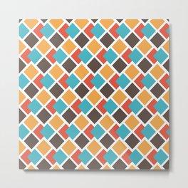 Geometric art deco Metal Print