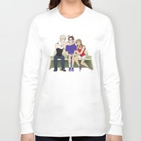 hetalia Long Sleeve T-shirts featuring The Frying pangle by Jackce