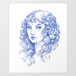 Sea Maiden Art Print