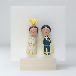 Just married... Mini Art Print