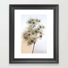 Florales · plant end 8 Framed Art Print