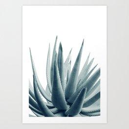 Agave Blue Vibe #1 #tropical #decor #art #society6 Art Print