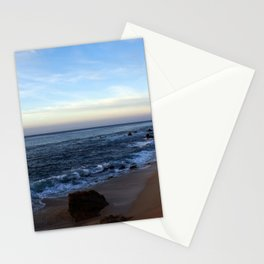Water meets Sand on the Beach in Los Cabos Mexico Stationery Cards