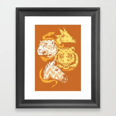 Animal Prints Framed Art Print