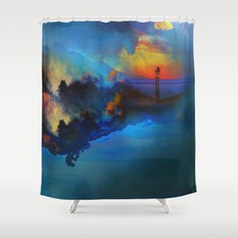 Time keepers Shower Curtain