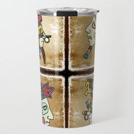 mexican warriors Travel Mug