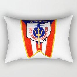 USS OHIO (SSBN-726) PATCH Rectangular Pillow