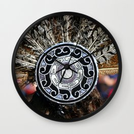 Feather Headdress Wall Clock