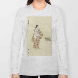 Japanese Art, 1920s Long Sleeve T-shirt