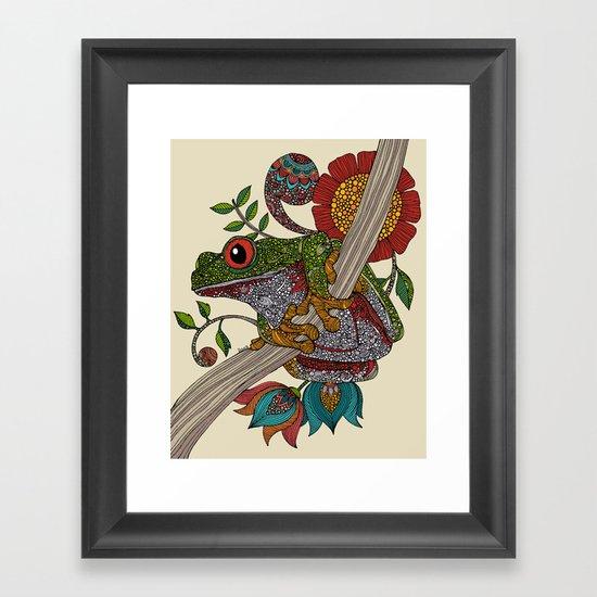 Phileus Frog Framed Art Print