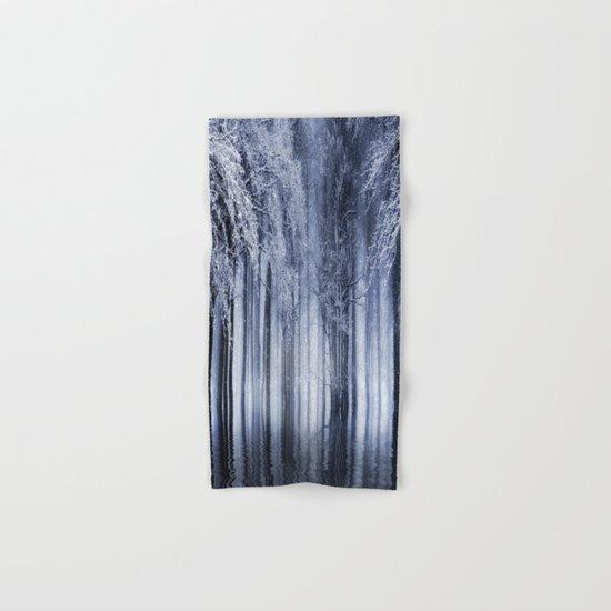 Mystical Winter Lake Hand & Bath Towel