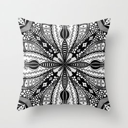 Chaotic Daydream Throw Pillow