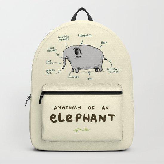 Anatomy of an Elephant Backpack
