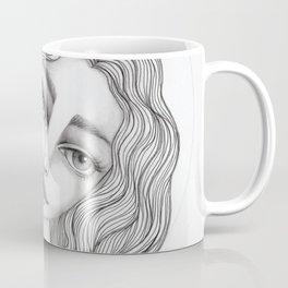 JennyMannoArt GRAPHITE DRAWING/GRACE Coffee Mug