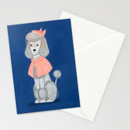 Priscilla the Poodle Stationery Cards