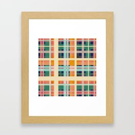 Geometric Shape 12 Framed Art Print
